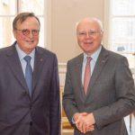 Visite d'une délégation de la CEDH, conduite par son président, M. Guido Raimondi